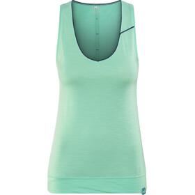 Millet Cloud Peak Koszulka bez rękawów Kobiety turkusowy